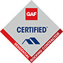 GAF Certified - Residential Roofing Contractor